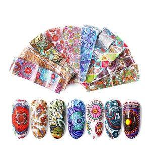 New 10pcs nail sticker decal wraps